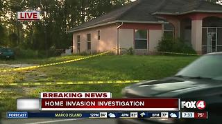 Deputies investigate home invasion in Lehigh Acres overnight - 7:30am Live Report - Video