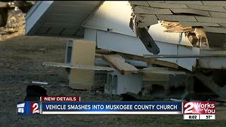 Muskogee County Church victim of hit and run - Video