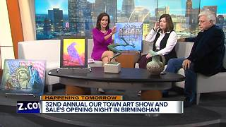 The Community House:  OUR TOWN Art Show & Sale - Video