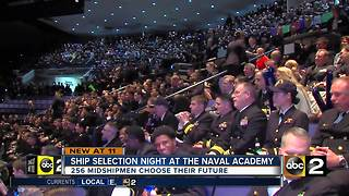 Naval Academy Ship Selection Night - Video