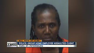 Police charge group home caregiver with assaulting disabled woman - Video
