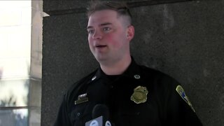 Erie county deputy saves motorcycle crash victim's life