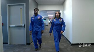 Tampa Bay high school students make giant leap for education