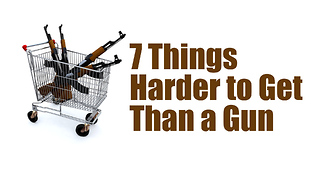 7 Things Harder To Get Than A Gun | Rare News - Video