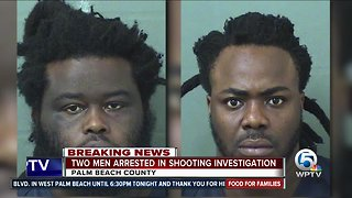 2 men arrested in connection with shooting that placed Boynton Beach school on lockdown