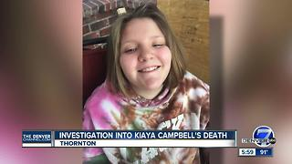 Investigation into Kiaya Campbell's death