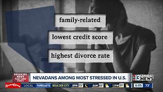 Stressed out? Study finds Nevada among most stressed states - Video