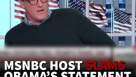 MSNBC Host Slams Obama's Statement Supporting Muslim Ban Protests