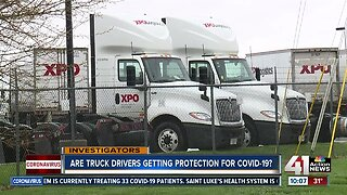 Employees claim trucking company isn't protecting them