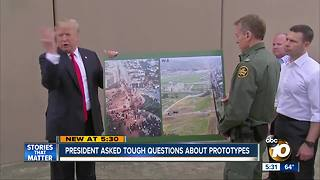 President asked tough questions about prototypes