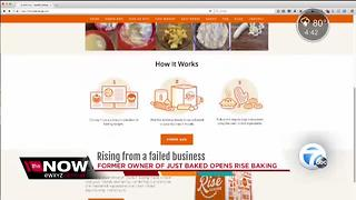 Former owner of the failed Just Baked opens new business online - Video