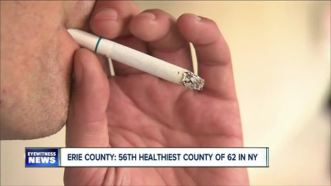 Erie County among most unhealthy counties in New York State