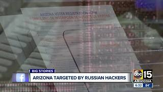 Russia targeted voter registration systems in Arizona