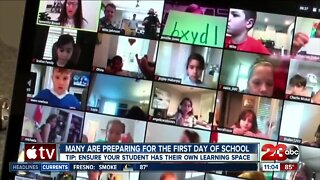 Parents and teachers prep as many return to school Monday