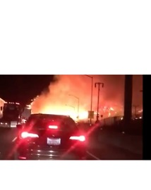Skirball Fire Closes Portion of Interstate 405, Forces Evacuations