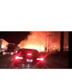 Skirball Fire Closes Portion of Interstate 405, Forces Evacuations - Video
