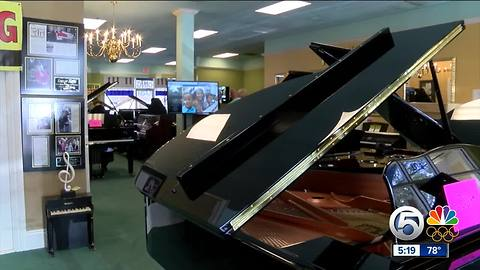 Woman known for piano music to play a new tune