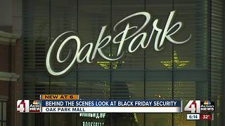 Oak Park Mall increases security for Black Friday - Video