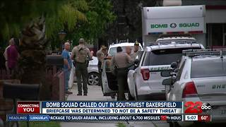 Bomb squad called out in southwest Bakersfield - Video