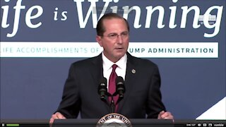 Sec. Azar: Most pro-life Administration in history 12-16-2020