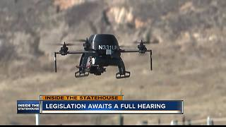 Drone rules for law enforcement could change under new bill - Video