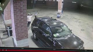 Video shows suspect shoot man after argument at Detroit gas station - Video