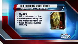 High court sides with officer in UAPD shooting - Video