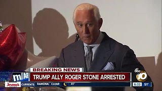 Trump associated Roger Stone arrested, faces federal charges