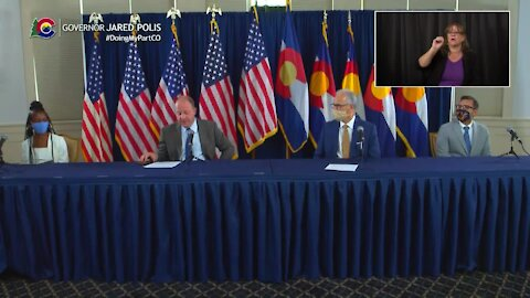 Gov. Polis, CU president, college students discuss COVID-19 and Labor Day weekend