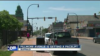 Fillmore Avenue storefronts getting a facelift - Video