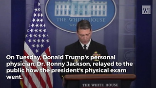 White House Doctor: There's a Simple Reason Why Trump Can Eat as Much McDonald's as He Wants - Video