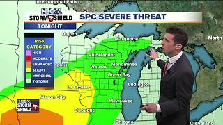Storm chances continue into the weekend - Video