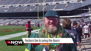 Packers fan sues Chicago Bears over dress code