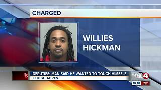 DEPUTIES: Man told neighbor he wanted her to watch him touch himself - Video