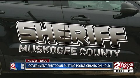 Sheriff's office: federal grants on hold for equipment during shutdown