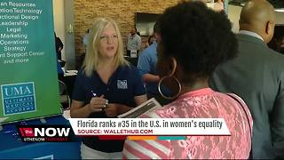 Florida ranks #35 in the U.S. in women's equality - Video