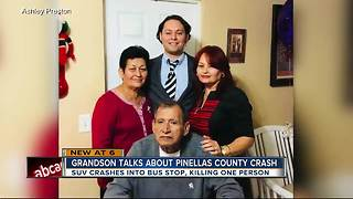 Grandson talks about Pinellas County crash - Video