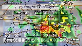 Tuesday T'Storms then... - Video