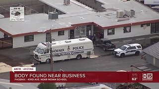 Police investigating body found at Phoenix business