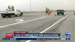 How to prepare for fire evacuations - Video