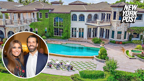 Inside Donald Trump Jr. and Kimberly Guilfoyle's new $9.7M Florida mansion