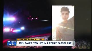 Teen takes own life in an Akron police patrol car - Video