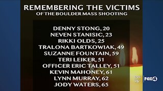 Ten victims identified in Colorado shooting