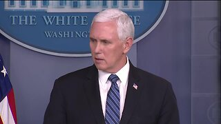 Vice President Pence discusses outbreak at JBS meatpacking facility in Greeley