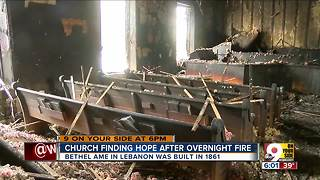 Historic church devastated by overnight fire - Video