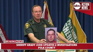 Man arrested for forced sexual battery, kidnapping, burglary of 81-year-old woman | Sheriff Grady Judd Presser - Video