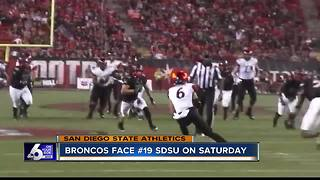 Broncos face San Diego State on Saturday