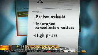 CBS: ObamaCare Resulting In Dropped Coverage And Higher Premiums - Video