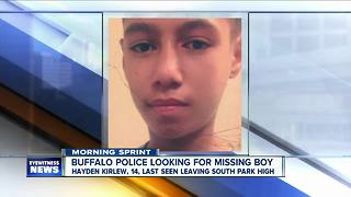 Buffalo Police search for missing 14 year-old - Video