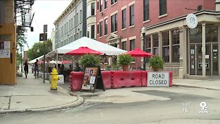 Outdoor street dining cuts parking in Over-the-Rhine